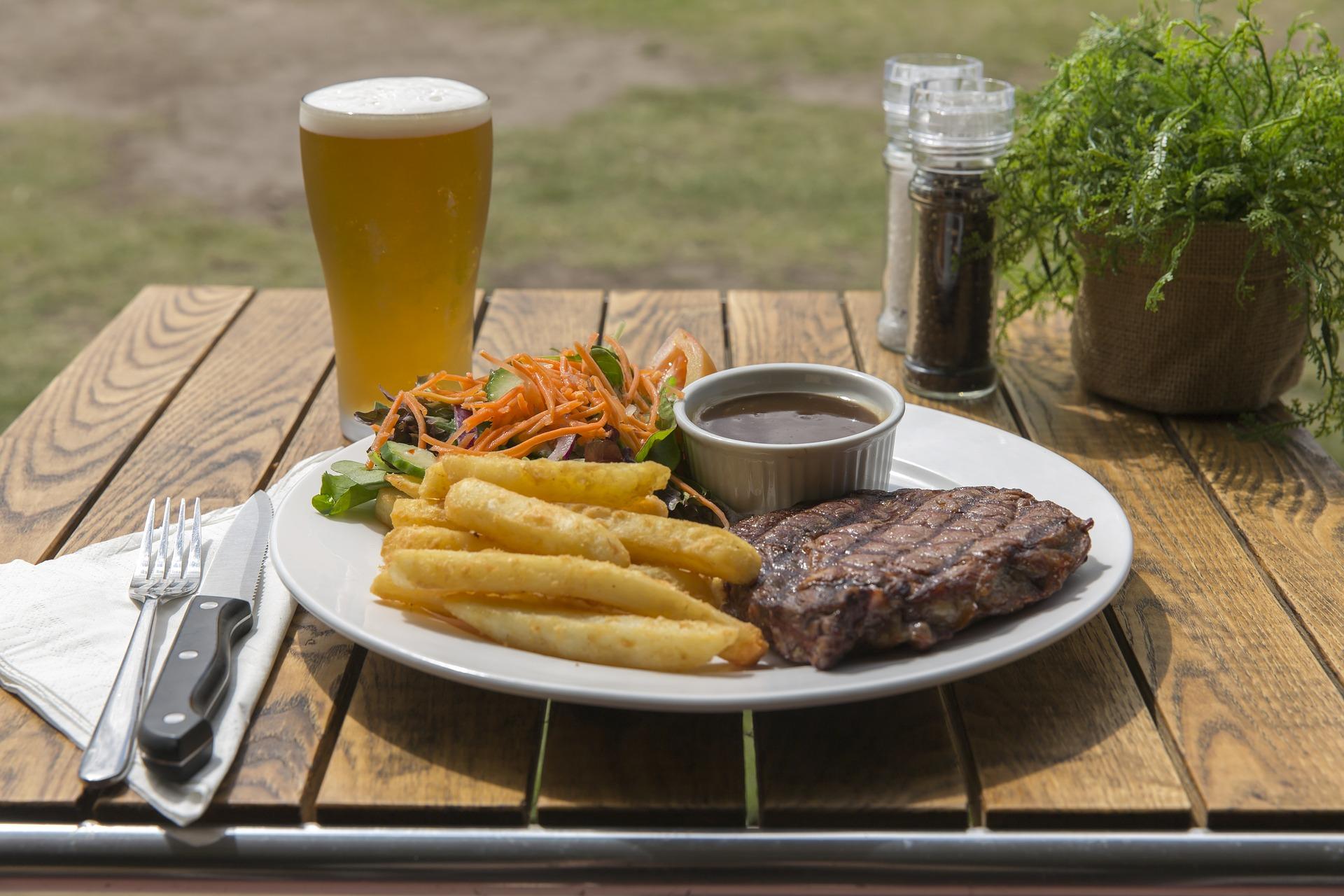 2 11 Oz 1855 Beef Ribeye Steaks Edes Custom Meats